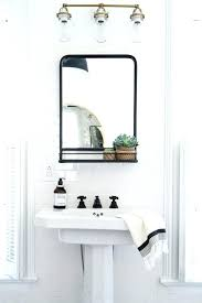 Bathroom Sink Mirrors The Black Framed Mirrors For Bathroom How To Hang A Bathroom