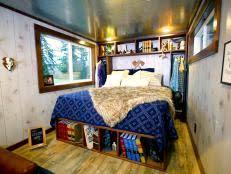 Hgtv Small Bedroom Makeovers - small bedroom design u0026 storage ideas hgtv
