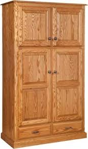 Unfinished Wood Storage Cabinets by Pantry Cabinet Unfinished Wood Pantry Cabinet With Storage Racks