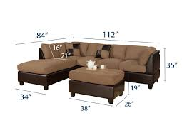 Apartment Size Sectional Sofas by Furniture Home Brown Sleeper Sofa With Arm Rest And Nails Accent