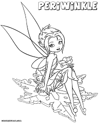 periwinkle fairy coloring pages coloring pages to download and print