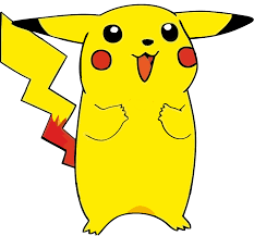 o s pikachu pokemon vector stencil anime japanese kids