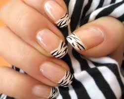 zebra pattern nail art easy designs to do on your nails at home another heaven