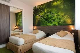 decoration chambre jungle deco chambre nature 8 t234te de lit jungle textilvision do