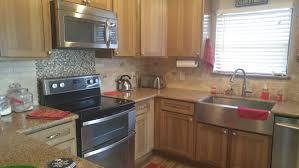 I Love My Kraftmaid Hickory Husk Cabinets Silestone Sienna Ridge - Silestone backsplash