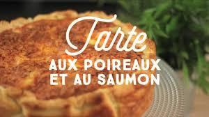 quiche cuisine az tarte aux poireaux et au saumon cuisineaz