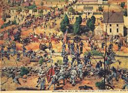 Civil War Battle Flag Civil War Dioramas Charge Civil War Wargaming