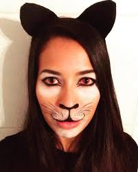 easy cat makeup ideas halloween costumes