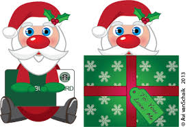 creative pear printables printable gift card holder santa