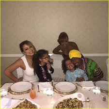 hawaii for thanksgiving mariah carey celebrates thanksgiving in hawaii with kids u0026 ex nick