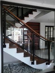glass stair railing glass railings philippines glass railing