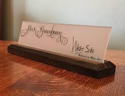 Desk Plates For Offices Custom Desk Name Plates Home Furniture Decoration