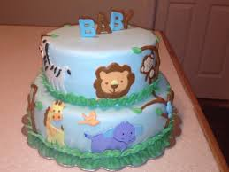 jungle theme baby shower cake jungle themed baby shower cake cakecentral