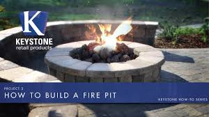 khts project 2 how to build a fire pit youtube