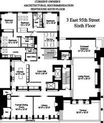 Apartment Building Floor Plans by Floor Plan For An Apartment In The Dakota Apartment Building