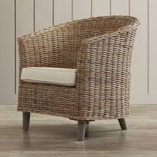 pleasant wicker accent chair for your outdoor furniture with