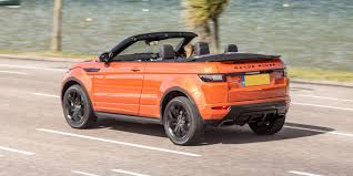 evoque land rover convertible land rover range rover evoque convertible review carwow