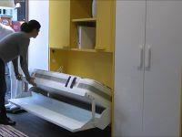 lit escamotable bureau intégré armoire lit escamotable mignon armoire lit escamotable 90 200