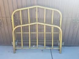 Brass Bed Frames Antique Solid Brass Bed Frame Pre 1900 Size Converted From