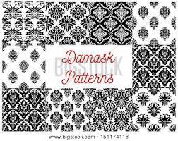 damask patterns vector pattern vector photo bigstock