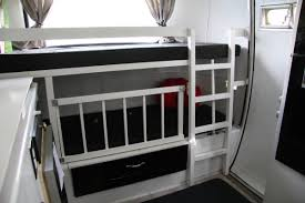 Rv Bunk Bed Ladder Ideas For Keeping The Little People In The Bunks Camping In