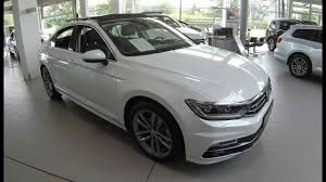 volkswagen vw volkswagen vw passat sedan r line new model 2017 oryx white
