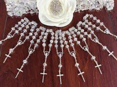 Crystal Baptism Favors 45 Pcs Crystal Rosaries Decade Rosaries First Communion Favors