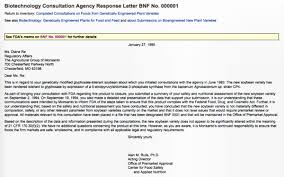 Sample Letter Of Intent To Run For Elected Office by Gmo Myths And Truths Testing And Regulation Of Gm Foods Is Non