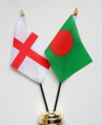 Bangladesi Flag England U0026 Bangladesh Friendship Table Flag