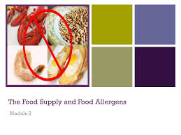 module cuisine the food supply and food allergens module 3 module content