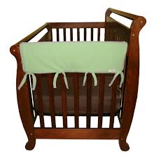 How To Keep Cats Out Of Baby Crib by Amazon Com Trend Lab Fleece Cribwrap Rail Covers For Crib Sides
