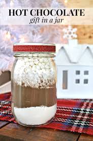 hot chocolate gift ideas hot chocolate mix jar gift idea mad in crafts