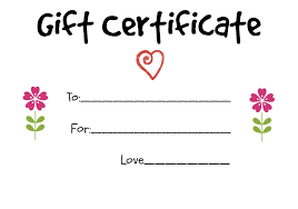 how much are gift cards gift certificate ideas to give to a grandparent
