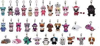 ty beanie boo boos ty key ring clip glubschi ty selection