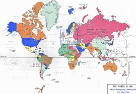 Holland On World Map by Maps World Map 1919