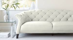 Modern Sofas Leather Luxe Modern 2 To 3 Seater Leather Chesterfield Sofa Leather