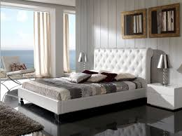 White Leather Platform Bed Modern Luxury And Italian Beds Lift Up Platform Storage Beds