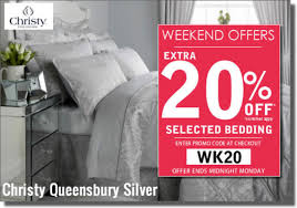 just linen uk extra 20 off selected bedding this weekend