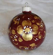 painted ornaments pinteres