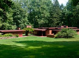 frank lloyd wright inspired home with lush landscaping 6 dreamy frank lloyd wright designed homes for sale