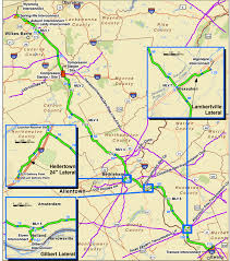A Map Of Pennsylvania by New Pipeline Could Mean Tax Bonanza For Nj Towns But For Pa Not