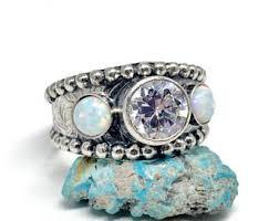 western wedding rings western ring etsy