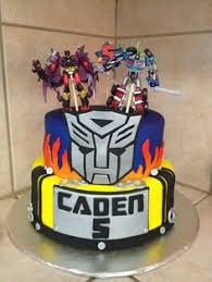 transformers cake decorations transformers children s birthday cakes party ideas