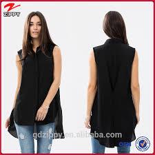 top design black sleeveless fashion top design buy