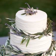 wedding cake lavender wedding cake of the week lavender and olive branches brides
