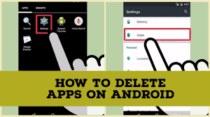 delete apps android how to delete apps on android