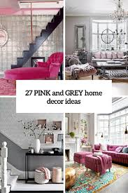 creative pink and grey bedroom ideas with additional interior