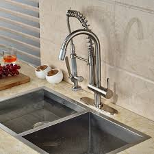 Spring Kitchen Faucet by Online Get Cheap Handle Hand Shower Kitchen Aliexpress Com
