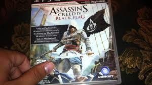 Ac4 Black Flag Assassin U0027s Creed 4 Black Flag Unboxing Ps3 Hd Youtube