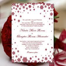 snowflake wedding invitations handmade printable winter bridal shower wedding invitations